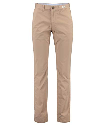 Tommy Hilfiger Herren CORE Denton Straight Chino Hose, Beige (Batique Khaki 264), W34/L32