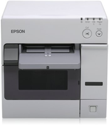 Epson tM-c3400 (032) – Terminal point de vente (PS, ECW, POS, Matrice de point, 92 mm/SEG, 85 – 151 µm, 30 – 108 mm, avec fil) couleur blanc