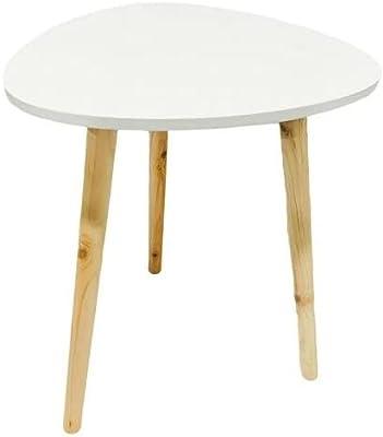 Mesa decorativa de madeira