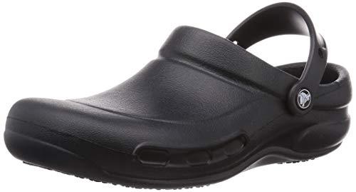 Unisex Crocs Bistro–Zuecos, negro (Negro), 8 D(M) US