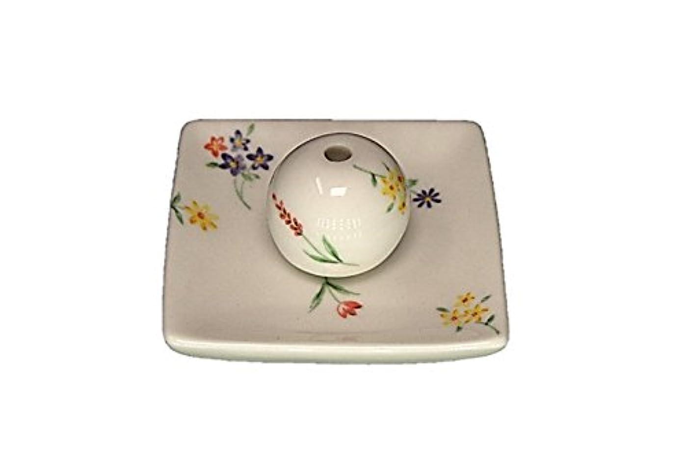 支払うマネージャー率直なブーケ 小角皿 お香立て 陶器 製造 直売
