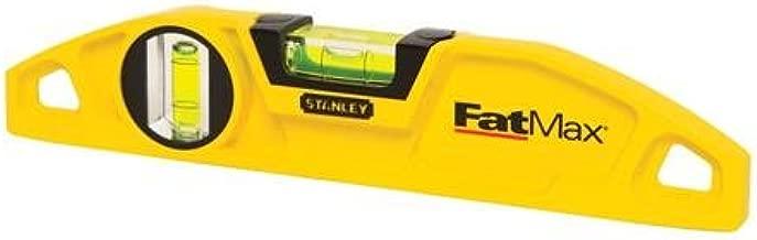 Stanley 43-605 FatMax 2-Vial Torpedo Level
