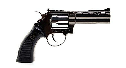 Samvaav High Quality Zinc alloy Gun Shaped Cigarette Gas Lighter Refillable Antique Look & Windproof with Holster