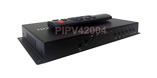 4-Channel HDMI Video Multiplexer with Audio Support + RS232 RS485 Distant Control