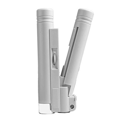 GYW-YW Lente Microscopio Binocular (con Escala) con la lámpara de LED de la Lupa de Gran Aumento LED iluminación de microscopio de Doble Tubo (Color : 150X, Magnification : 150X)