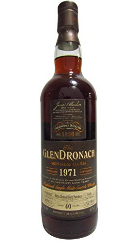 GlenDronach - Single Cask #1436 (unboxed) - 1971 40 year old Whisky