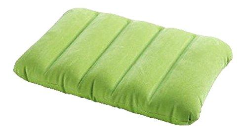 aufblasbares Kissen Reisekissen Strandkissen Campingkissen Kopfkissen Sitzkissen (Grün)