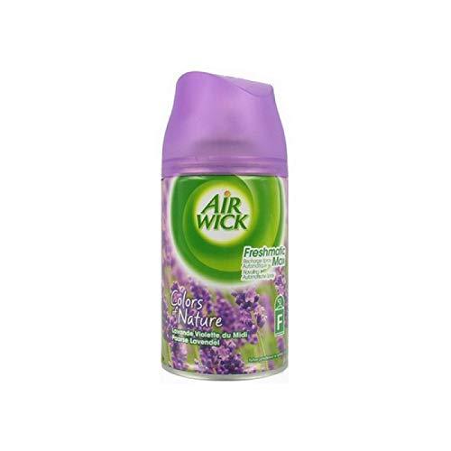 Airwick Nachfüller Lavendel für Freshmatic Max - 6er Pack (6 x 250 ml)