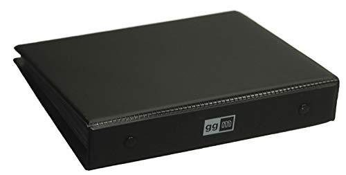 ggm Spielerpassmappe Schwarz DIN A6 inkl. 15 Passhüllen Orig