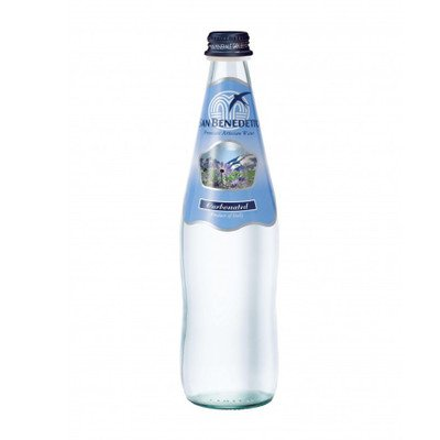 Sanbenedetto サンベネデット スパークリングウォーター グラスボトル 500ml×20