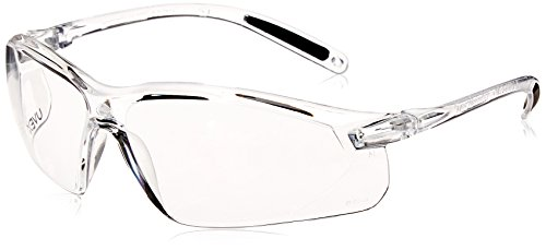 Howard Leight by Honeywell A700 Sharp-Shooter Shooting Glasses, Clear Lens (R-01636), One Size