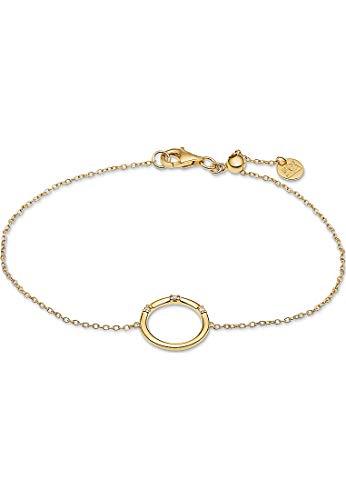 Guido Maria Kretschmer Damen-Armband 925er Silber 3 Diamant One Size Gold 32011675