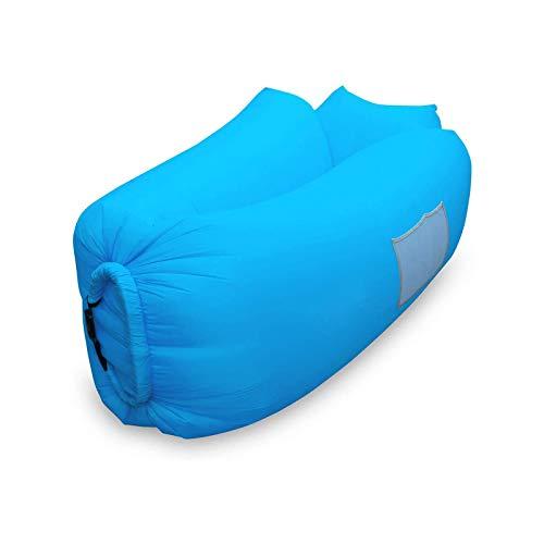 BANGSUN Aufblasbare Liege Air Sofa Hängematte mit Kopfstütze Wasserdicht Anti-undicht