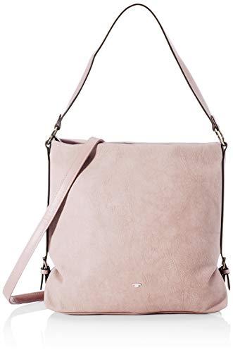 TOM TAILOR Shopper Damen, Rosa, Perugia, 32x11,5x29 cm, Handtasche, Schultertasche