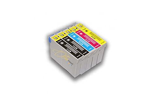 Office Prime - Pack de 4 cartuchos compatibles con Epson T0715