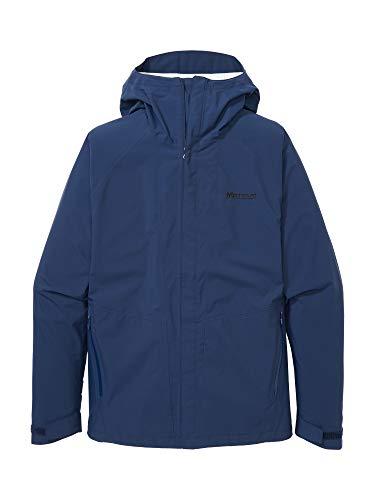 Marmot EVODry Bross Jacket Chubasquero rígido, Chaqueta Impermeable, a Prueba de Viento, Impermeable, Transpirable, Hombre, Arctic Navy, S