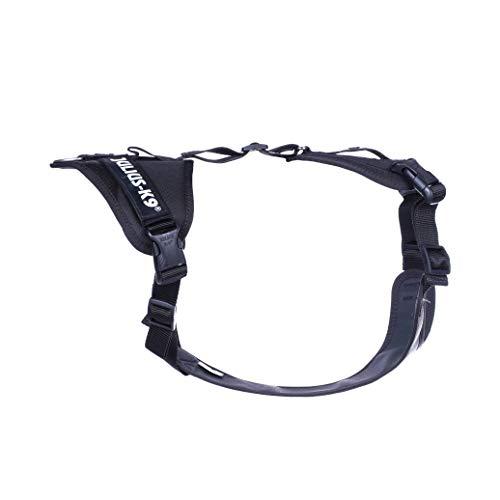 Julius-K9 19MTR-L-XL-AMZ Mantrailing & Outdoor Hundegeschirr, Größe: L-XL, schwarz, Schwarz, 325 g