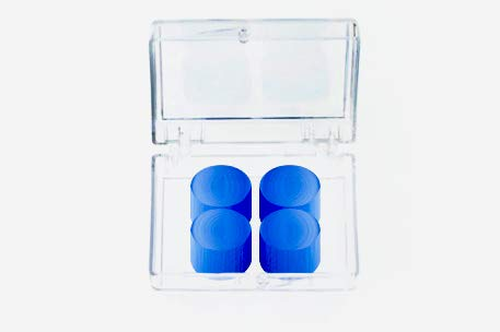 Mighty Plugs - (2 Pair) All Ages - NRR 34 Sound Reduction - All Natural from Pure Beeswax - Best Ear Plugs for Sleeping - 100% Snore Blocking - 100% Waterproof Swimming - a Must for Concert Earplugs
