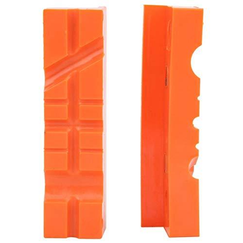 KUIDAMOS Almohadilla Protectora magnética de TPU para Tornillo de Banco, 1 Juego, 4.5 Pulgadas, lo Suficientemente Suave, Hecha de Caucho de Poliuretano termoplástico(4.5')