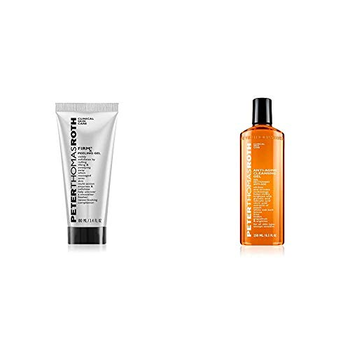 reviva peter thomas roth glycolic acids Peter Thomas Roth FIRMx Peeling Gel, Exfoliant for Dry and Flaky Skin and Anti-Aging Cleansing Gel, Face Wash with Anti-Wrinkle Technology, Exfoliates with Glycolic Acid and Salicylic Acid