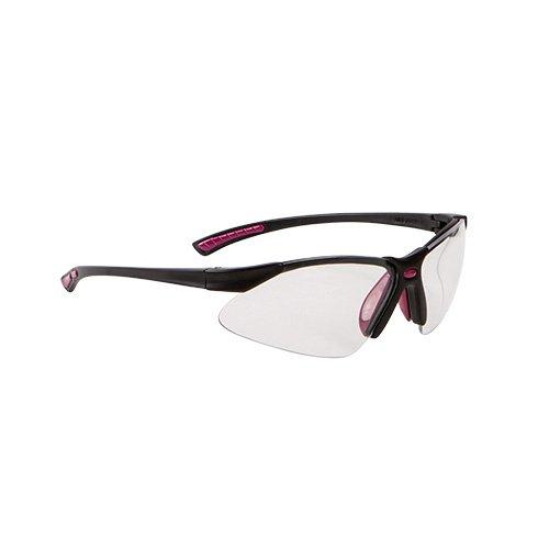 Allen Company Gamma Junior Z87+ Impact Resistance Shooting Glasses, Black/Neon Green