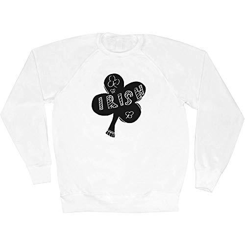 Azeeda Klein 'Irischer Klee' Unisex Sweatshirt / Pullover (SW00057137)