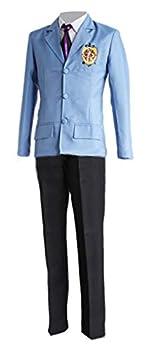 Halloween Party Cosplay Costume Fujioka Haruhi Cosplay Costume King High School Uniform  S Blue