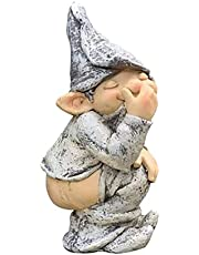 Tuin goblin standbeeld tuin goblin kunst decoratie gazon ornamenten binnen- of buitendecoratie elfjes opstijgen broek trekken stinkende hars ambachten