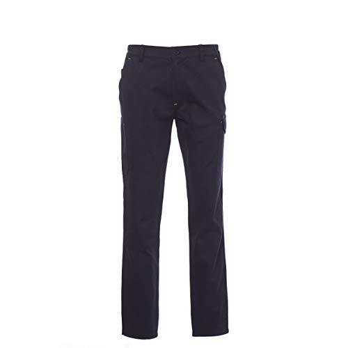 PAYPER Power Pantalone da Lavoro Unisex Uomo Donna 100% Cotone Chiusura Zip Tasche Anteriori Laterali Posteriori Porta Metro Monete Passanti in Vita (M)