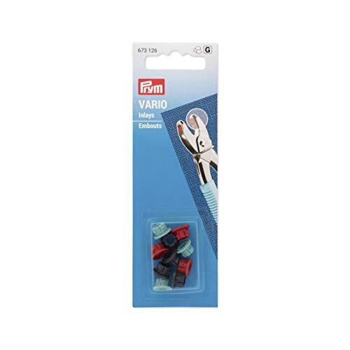 Prym 673 126 Einlagen für Vario-Zange, mehrfarbig, One Size