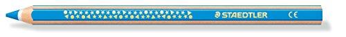 Staedtler 1287-30 Dicki Farbstift super jumbo, Sechskantform, 12 Stück im Kartonetu, lichtblau