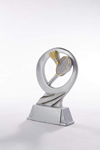 Gold-Silber Henecka Fussball-Pokal w/ählbar in 3 Gr/ö/ßen mit Wunschgravur Fu/ßballtroph/äen auf wei/ßem Mamorsockel oder als 3er-Serie