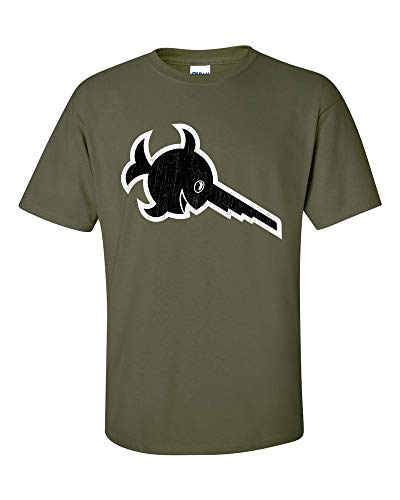 Preisvergleich Produktbild Not Just Nerds Herren Laughing Sawfish U-96 U-Boat Submarine T-Shirt (X-Large,  Olivgrün)