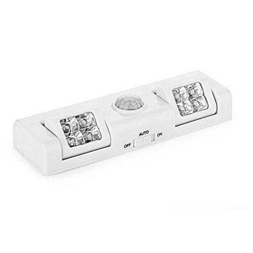 SD どこでも センサーライト 人感センサー ライト 自動点灯 自動消灯 8LED 配線 コンセント 不要 電池式 JINKAN