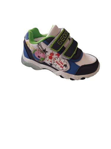 Zapatos azules con luces de George - Peppa Pig Original Talla 22