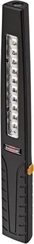 Brennenstuhl LED Taschenlampe mit Akku / Mini Stableuchte mit Magnet (Arbeitsleuchte 400+80lm, Werkstattlampe mit bis zu 8h Leuchtdauer, Inspektionsleuchte inkl. USB Ladekabel, IP40)