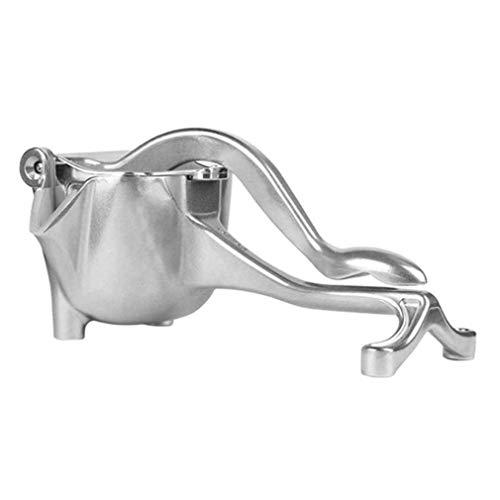 Nsdsb Exprimidor Manual Uso Doméstico Aleación De Aluminio Resistencia A Caídas Resistente Al Desgaste Bebida Plata