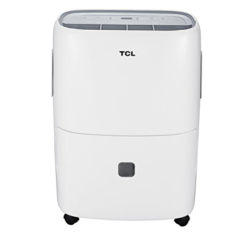 TCL High Efficiency 50 Pint dehumidifier, White