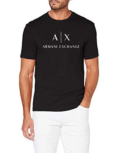 ARMANI EXCHANGE 8nztcj T-Shirt, Nero (Black 1200), XXL Uomo