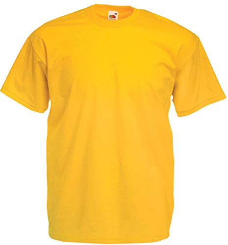 Fruit of the Loom T-Shirt S-XXXL L,sonnenblumengelb L,Sonnenblumengelb