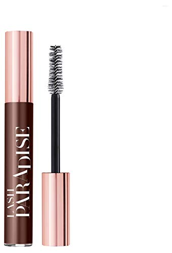 L'Oréal Paris Lash Paradise Sandalwood Wonder, braune Wimperntusche für intensives Volumen und spektakuläre Länge, für empfindliche Augen geeignet (1 x 5,9ml)