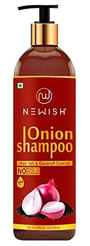 Newish Red Onion Shampoo For Hair Growth and Hairfall Control 200 ml