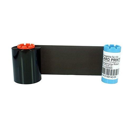Schwarzes Farbband für Hiti CS200E CS220E CS220E CS220E Drucker 2000 Bilder