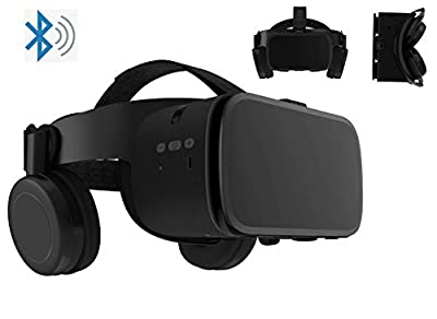 "3D Virtual Reality Headset Glasses Compatible for Android iOS iPhone 12 11 Pro Max Mini X R S 8 7 Samsung 4.7-6.2"" Cellphone ,3D VR Glasses for Movies & Video Games IMAX."
