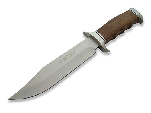 Zeitloses & klassisches 32cm Drop-Point Jagdmesser - Deerhunter - Outdoor - Survival - Angel - Camping - Hunting Knife - Messer