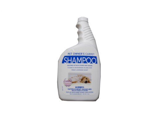 Kirby 235406 Pet Owners Carpet Shampoo - Use with Kirby Home Care System