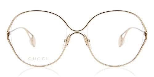 montatura occhiali da vista donna gucci Montatura Occhiali Vista Donna Gucci GG0254O Col. 001 Cal. 54/20