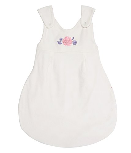 Sense Organics Unisex Baby SABA SP 2 in 1 Schlafsack, Mehrfarbig (ecowhite & AOP Roses 180070), 56 (Herstellergröße: 0M)