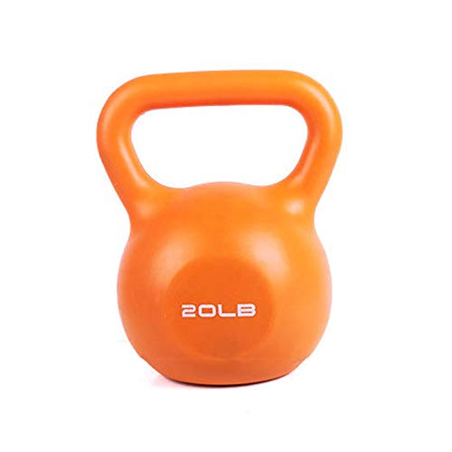 Kettle Bells, Home Fitness Exercise and Fitness Use, Body Muscle Training, Weight Loss Shaping Fitness Equipment, Non-slip Handle, Pure Iron Inner Core,9kg