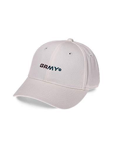 GRIMEY Gorra COUNTERBLOW Curved Visor Cap SS18 Coconut White-Strapback